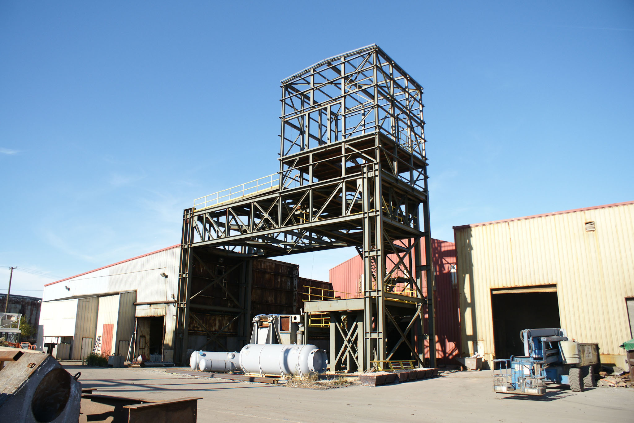 Support Structure Steel
