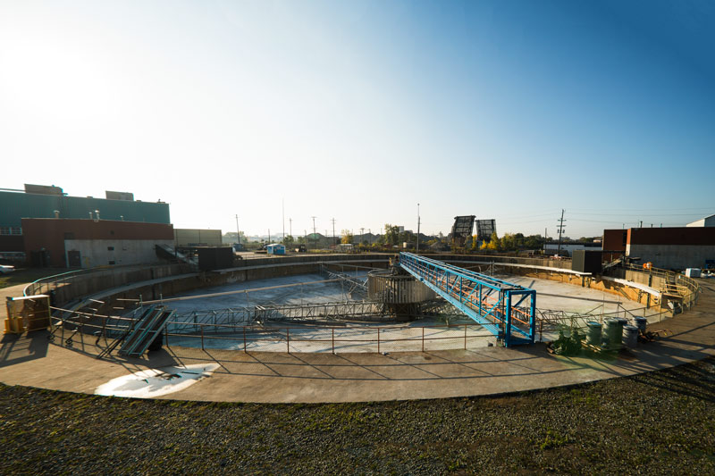 Detroit Waste Water Clarifier